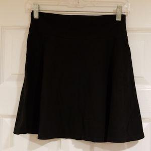 Forever 21 Black Spandex Mini Skirt